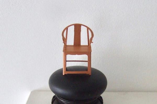 011 Ming Dynasty armchair /明朝の椅子