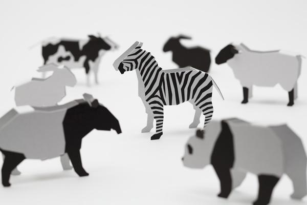 りくの白黒動物