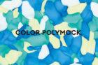 トラフ建築設計事務所による「COLOR POLYMOCK」リーフレット・パッケージの製作