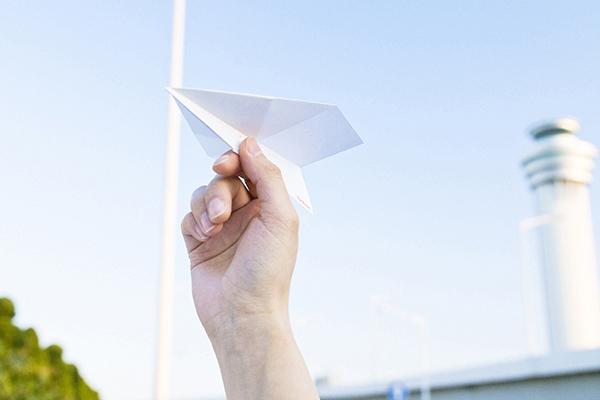 Par Avion よく飛ぶ紙飛行機便箋
