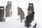 【新製品】1/100建築模型用添景セットNo.86 イースター島編