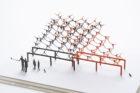 1/100建築模型用添景セット スペシャルエディション彫刻の森美術館編