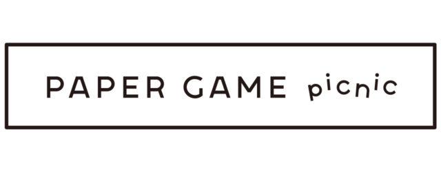 PAPER GAME picnic