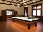 旧函館区公会堂テラダモケイ 展示品添景模型の制作